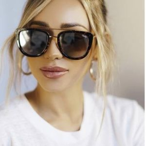 Quay Australia French Kiss Cat Eye Sunglasses